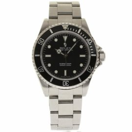 Rolex Submariner 14060 Stainless Steel Black Dial Automatic 40mm Mens Watch