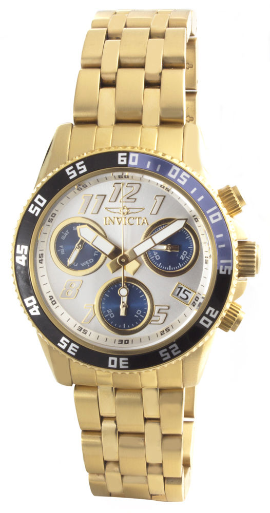 "Image of ""Invicta 19195 Gold Tone Stainless Steel 40mm Mens Watch"""