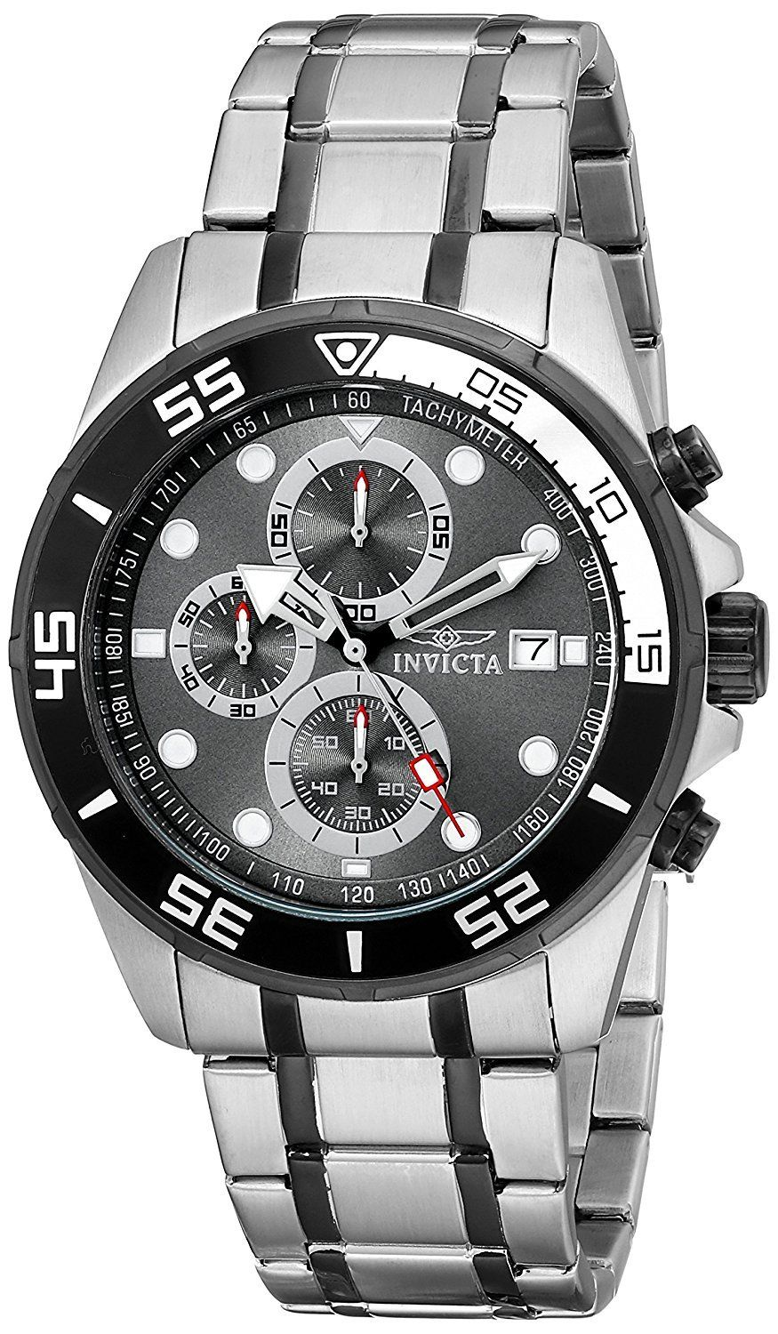 "Image of ""Invicta 17016 Stainless Steel Quartz 45mm Mens Watch"""