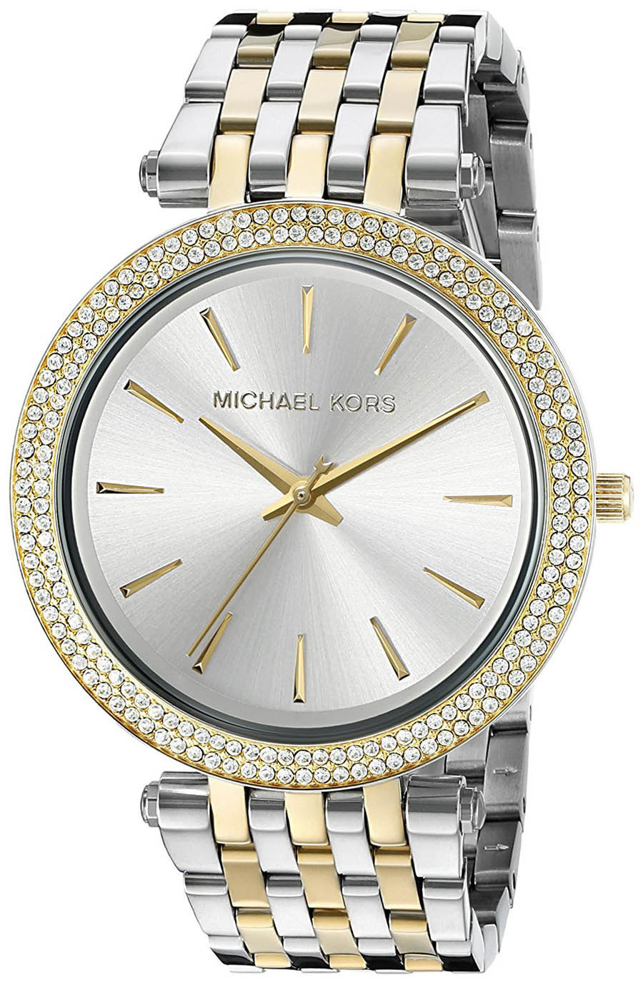 "Image of ""Michael Kors Darci Mk3215 Two Tone Stainless Steel 39mm Womens Watch"""