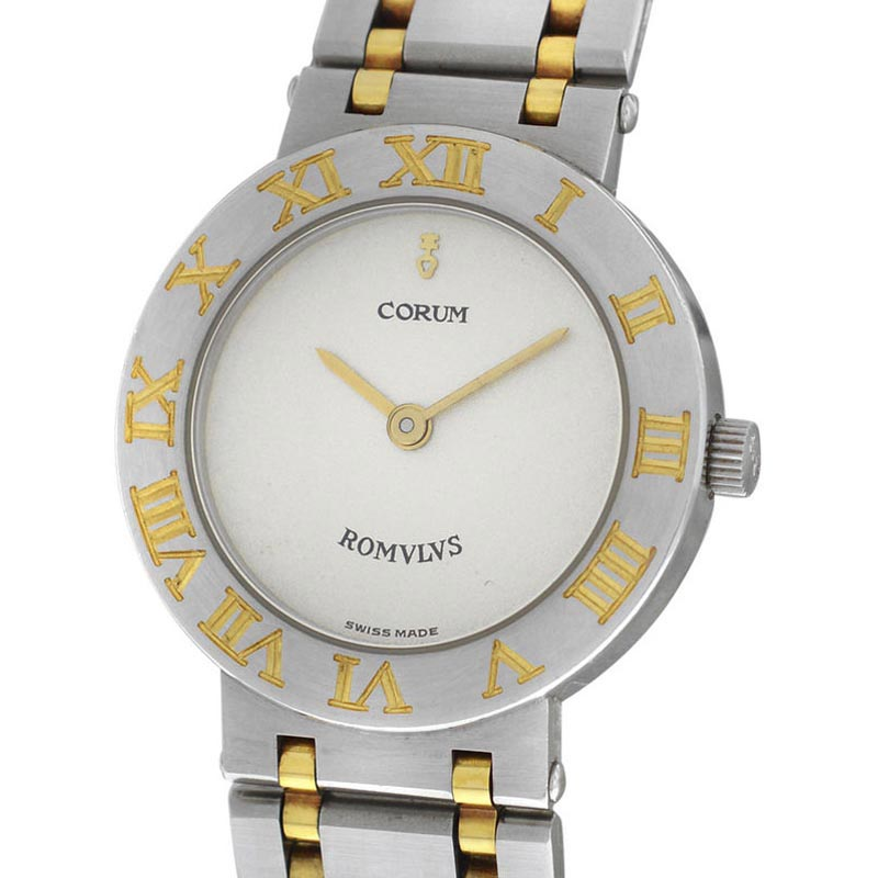 """Image of """"Corum Romulus 24.103.21 V048 Stainless Steel & Yellow Gold 24mm Womens"""""""