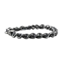 David Yurman 925 Sterling Silver Petrus Chain Bracelet