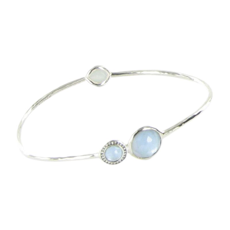 """""Ippolita Stella 925 Sterling Silver Diamond Blue Topaz Mother of Pearl"""""" 1910253"