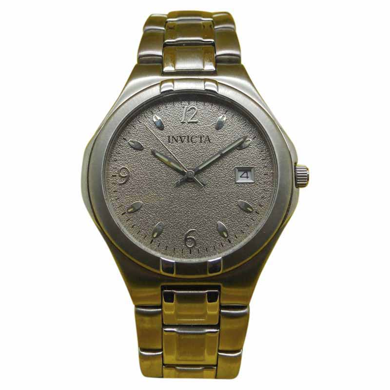 """Image of """"Invicta 9439 Stainless Steel Silver Dial Quartz 39mm Mens Watch"""""""