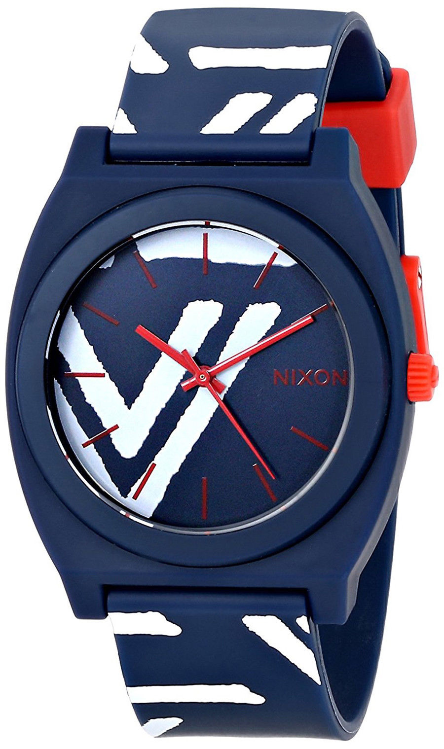 "Image of ""Nixon Time Teller A119-684 Plastic / Polyurethane Quartz 40mm Womens"""