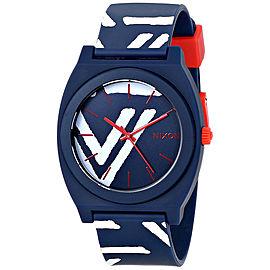 Nixon Time Teller A119-684 Plastic / Polyurethane Quartz 40mm Womens Watch