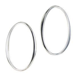 Ippolita Glamazon 925 Sterling Silver Hoop Earrings
