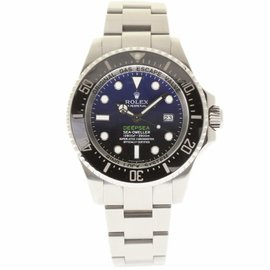 Rolex Deepsea Sea-Dweller 116660 Stainless Steel Black & Blue Dial Automatic 44mm Mens Watch
