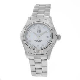 Tag Heuer Aquaracer WAF1415 Stainless Steel Quartz 28mm Womens Watch