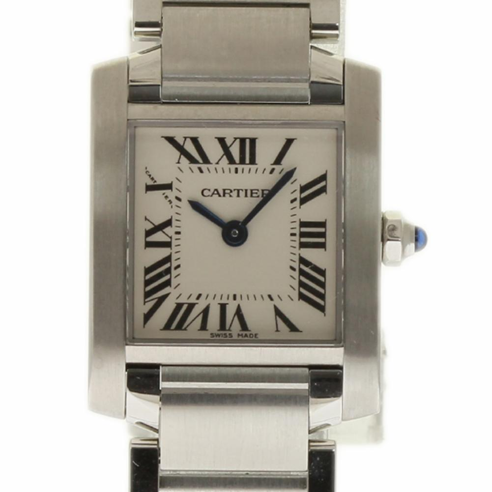"""Image of """"Cartier Tank Francaise W51008Q3 Stainless Steel Men's Watch"""""""