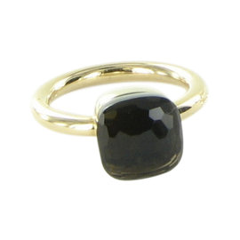 Pomellato Nudo 18K Rose Gold with Smoky Quartz Ring Size 6