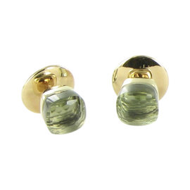 Pomellato Nudo 18K Rose Gold with Prasiolite Stud Petit Earrings