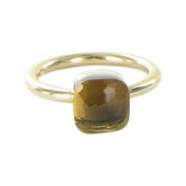 Pomellato Nudo 18K Rose Gold with Smoky Quartz Ring Size 5.5