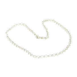 Tous 925 Sterling Silver Round Link Chain Necklace