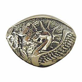 David Yurman 925 Sterling Silver Ring Size 9.5