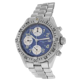 Breitling Colt A13035.1 Stainless Steel Automatic Chronograph Date 41mm Mens Watch