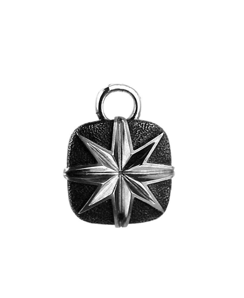 "Image of ""David Yurman 925 Sterling Silver North Star Pendant"""