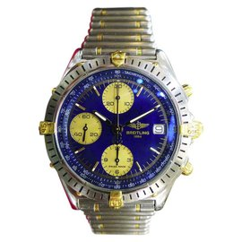 Breitling Chronomat B13048 Stainless Steel/Yellow Gold Automatic 40mm Mens Watch