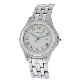 Cartier Panthere Cougar 987904 Stainless Steel Quartz 33mm Unisex Watch