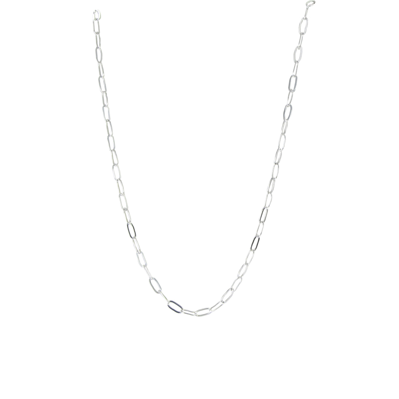 """Image of """"Tous 925 Sterling Silver Link Chain Necklace"""""""