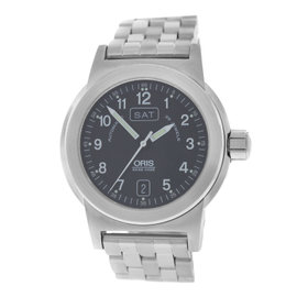 Oris Day Date Stainless Steel Automatic 40mm Mens Watch