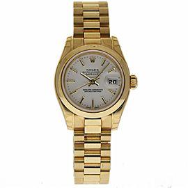 Rolex Datejust President 179168 18K Yellow Gold 26mm Womens Watch