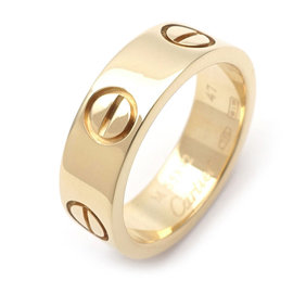 Cartier Love 18K Yellow Gold Ring Size 4