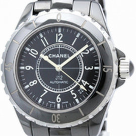 Chanel J12 H0685 Ceramic Black Dial Automatic 38mm Mens Watch