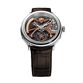 1770 Flying Tourbillon Skeleton Chocolate Dial