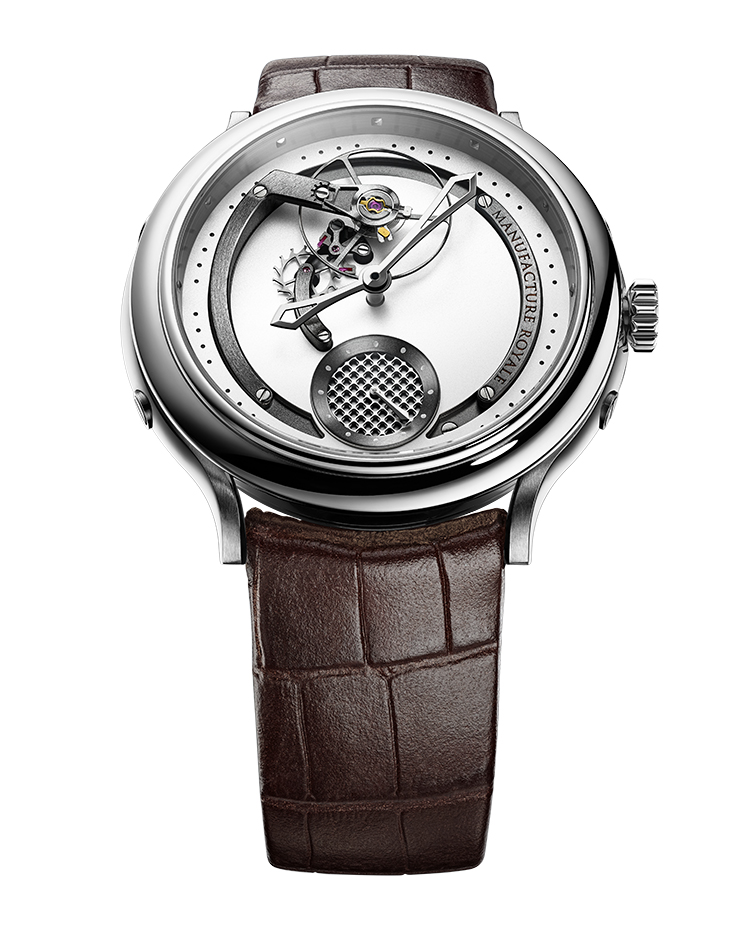 "Image of ""1770 Voltige Opaline Silver Dial"""