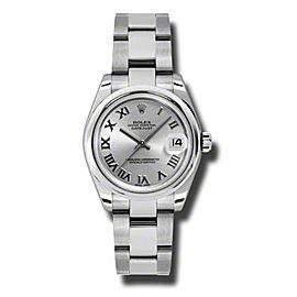 Rolex Datejust Steel Silver Roman Dial 31mm Watch