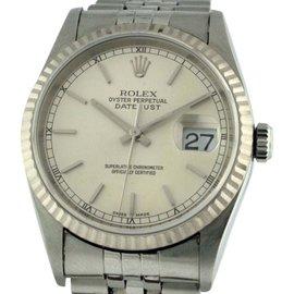 Rolex Datejust Stainless Steel 36mm Mens Watch
