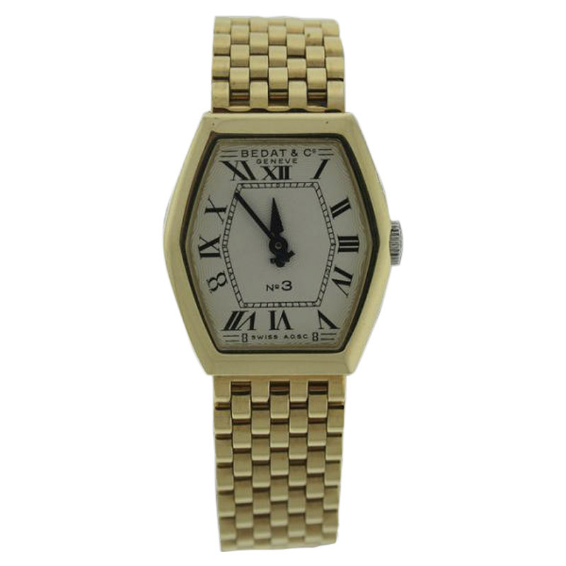 "Image of ""Bedat & Co. 306.303.100 18K Yellow Gold Quartz 24.8mm Womens Watch"""