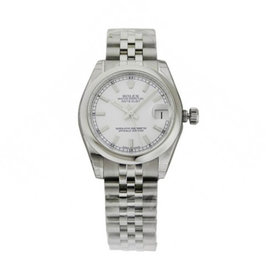 Rolex Datejust 178240 31mm Stainless Steel White Index Jubilee Watch