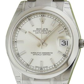 Rolex 178240 Datejust Steel Silver Index Oyster 31mm Watch