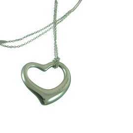 Tiffany & Co. Elsa Peretti 925 Sterling Silver Heart Pendant