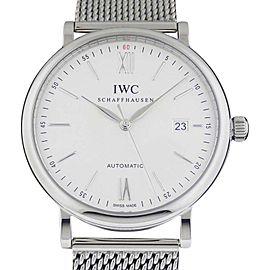 IWC Portofino IW356505 Automatic Stainless Steel 40mm Watch