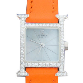 Hermes Diamond & White Gold Watch