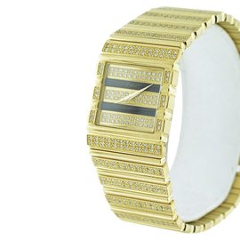 Piaget Classique 18K Yellow Gold with Diamonds Womens 25mm Watch