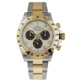 Rolex Daytona 116523 Ivory Dial Steel and Gold Watch