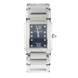 Patek Philippe Twenty-4 4910-10A-012 25mm x 30 mm Stainless Steel Watch