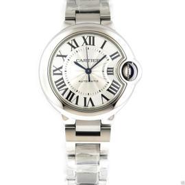 Cartier W6920071 Ballon Bleu Stainless Steel Automatic 33mm Watch