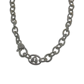 Judith Ripka 925 Sterling Silver CZ Necklace