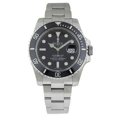 "Image of ""Rolex Submariner 116610 LN Stainless Steel Ceramic Bezel Black Dial"""