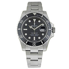 Rolex Submariner 116610 LN Stainless Steel Ceramic Bezel Black Dial Watch