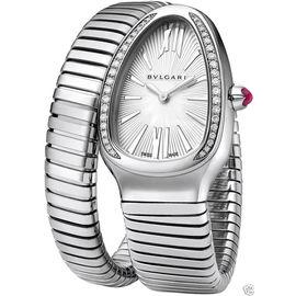 Bulgari Serpenti SP35C6SDS.1T Diamond Stainless Steel Watch
