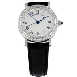 Breguet 8068bb/52/964.dd00 Classique 30mm 18K White Gold Watch