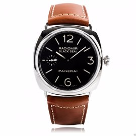 Panerai Pam 183 Steel 45mm Radiomir Black Seal Pam 00183 Watch