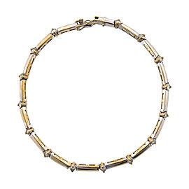 18K White Gold & Diamond Tennis Bracelet