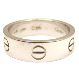 Cartier WG Love Wedding Band Ring SZ 8.25